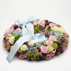 EX Delicate Funeral Wreath